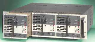 3 HSP power supplies in RA 60 Rack Adapter Photo