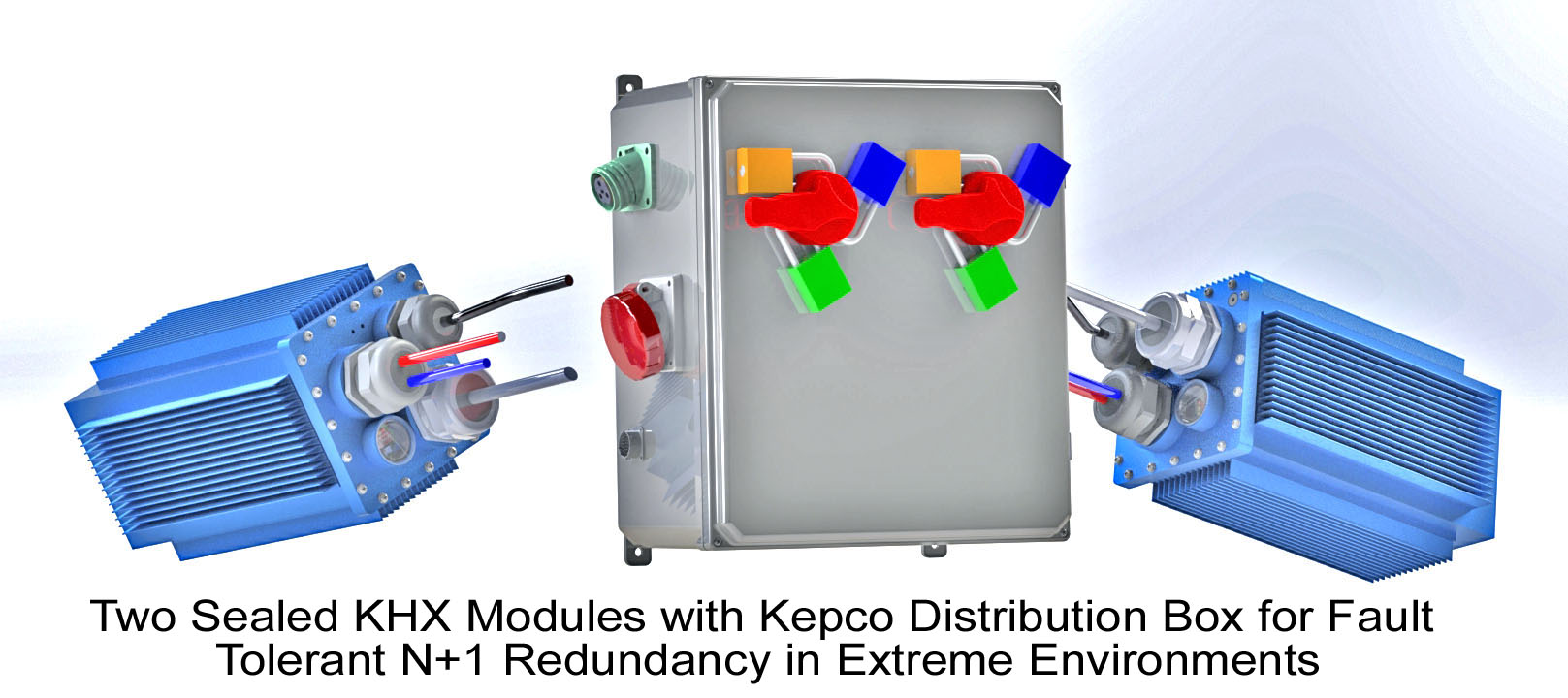 Two KHX Modules with Distribution box